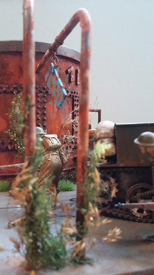 Combat à l'usine désaffectée              Tamiya/Dragon/Vulcain/MENG/Scratch 1/35   - Page 4 16031219
