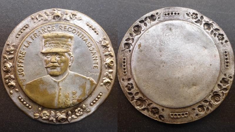 Médaille Joffre . la france reconnaissante Deskto10