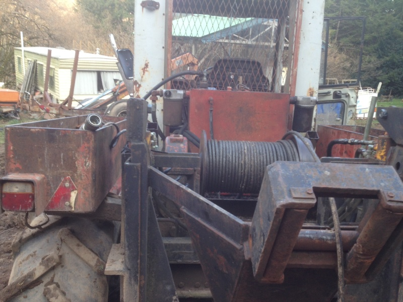 Mb trac 800 forestier Image13