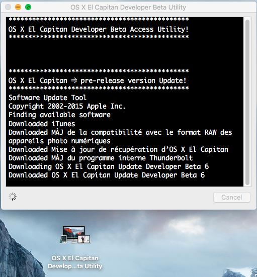 OS X El Capitan Developer Beta Utility.app 310
