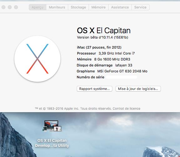 OS X El Capitan Developer Beta Utility.app 410