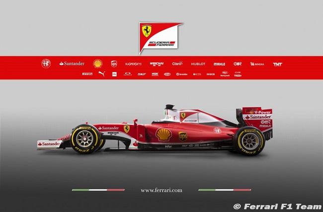 Saison 2016 - Présentations des F1 Ferrar10