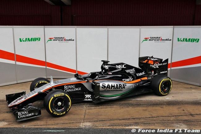 Saison 2016 - Présentations des F1 Forcei10