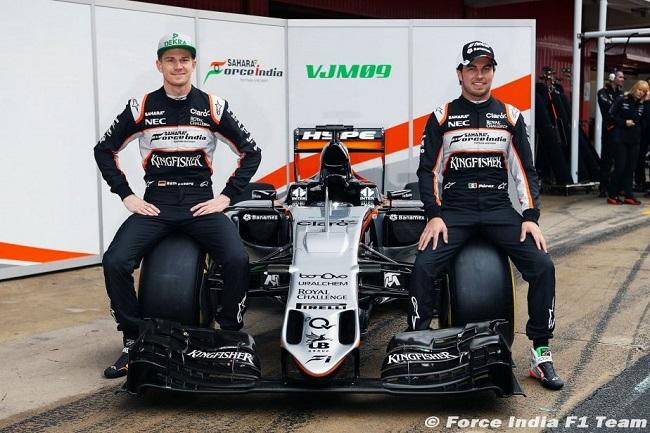 Saison 2016 - Présentations des F1 Forcei11