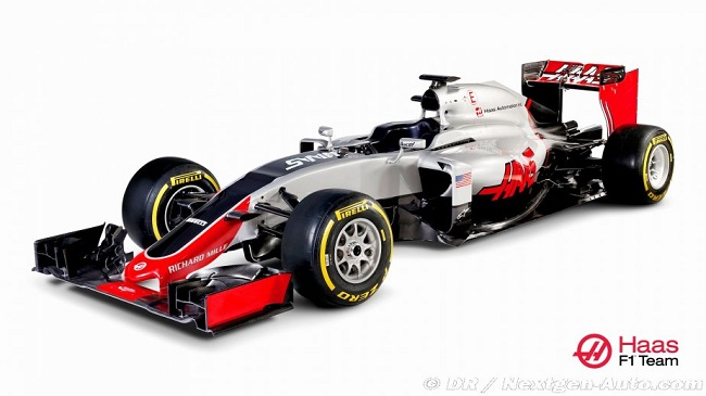 Saison 2016 - Présentations des F1 Haas210