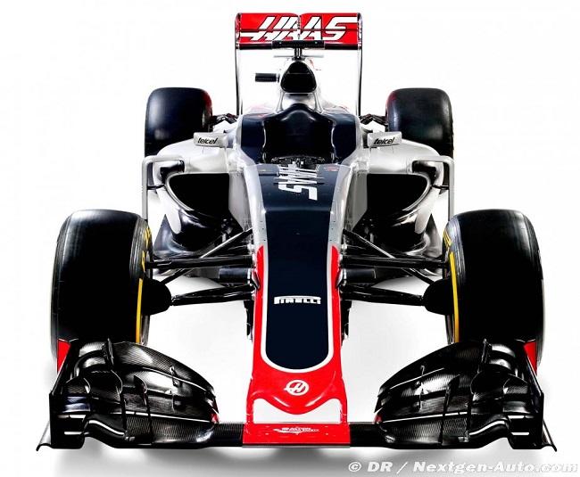 Saison 2016 - Présentations des F1 Haas310