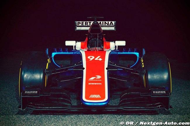 Saison 2016 - Présentations des F1 Manor310