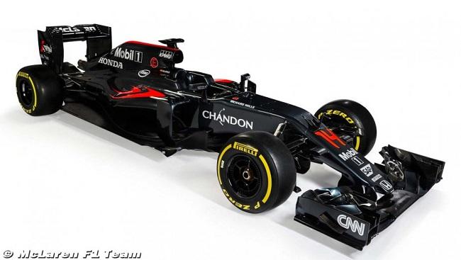 Saison 2016 - Présentations des F1 Mclare11