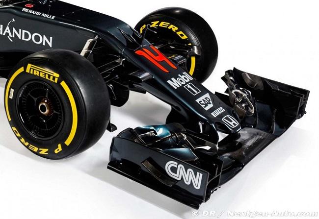 Saison 2016 - Présentations des F1 Mclare12