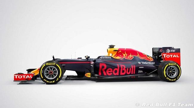 Saison 2016 - Présentations des F1 Redbul10