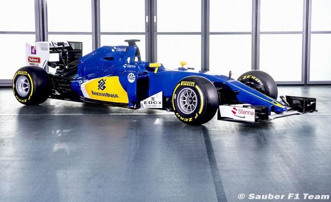 Saison 2016 - Présentations des F1 Sauber10