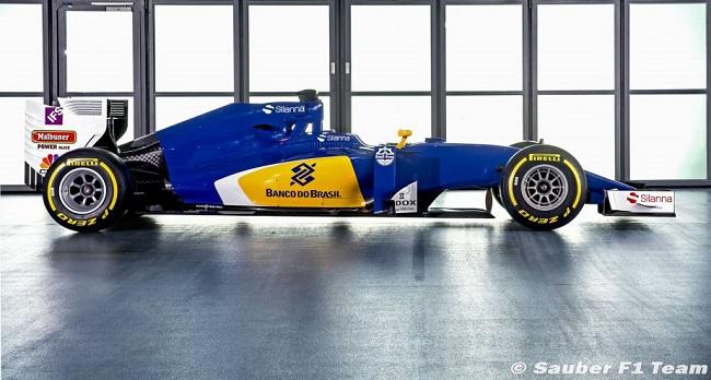 Saison 2016 - Présentations des F1 Sauber11