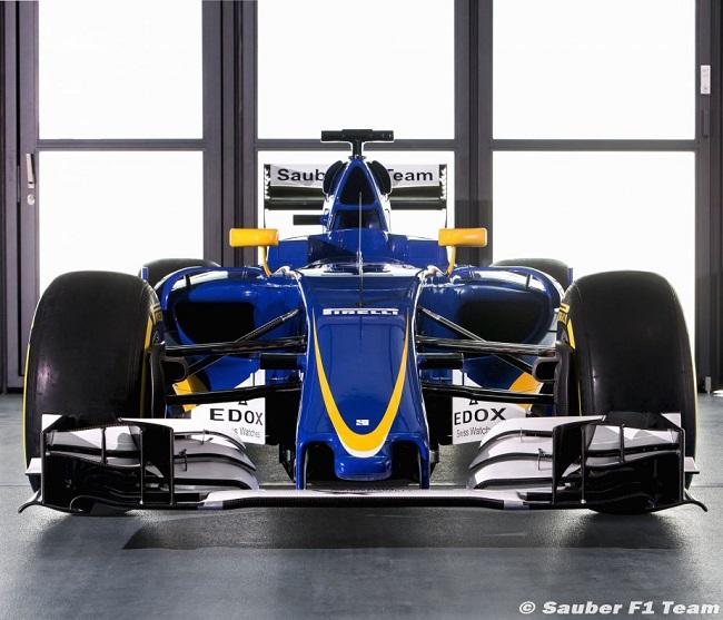 Saison 2016 - Présentations des F1 Sauber12