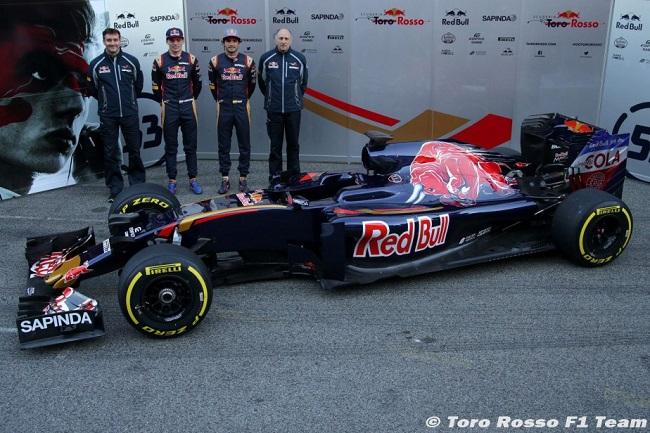 Saison 2016 - Présentations des F1 Str110