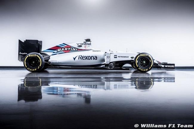Saison 2016 - Présentations des F1 Willia10