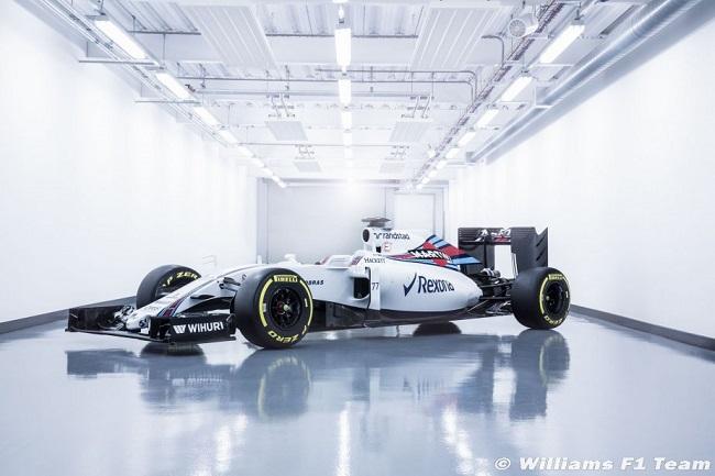Saison 2016 - Présentations des F1 Willia11