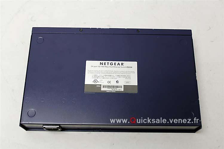[VENDU] Switch 24 Port Dual Speed Netgear FS524 Stackable Hub 44€ Netgea12