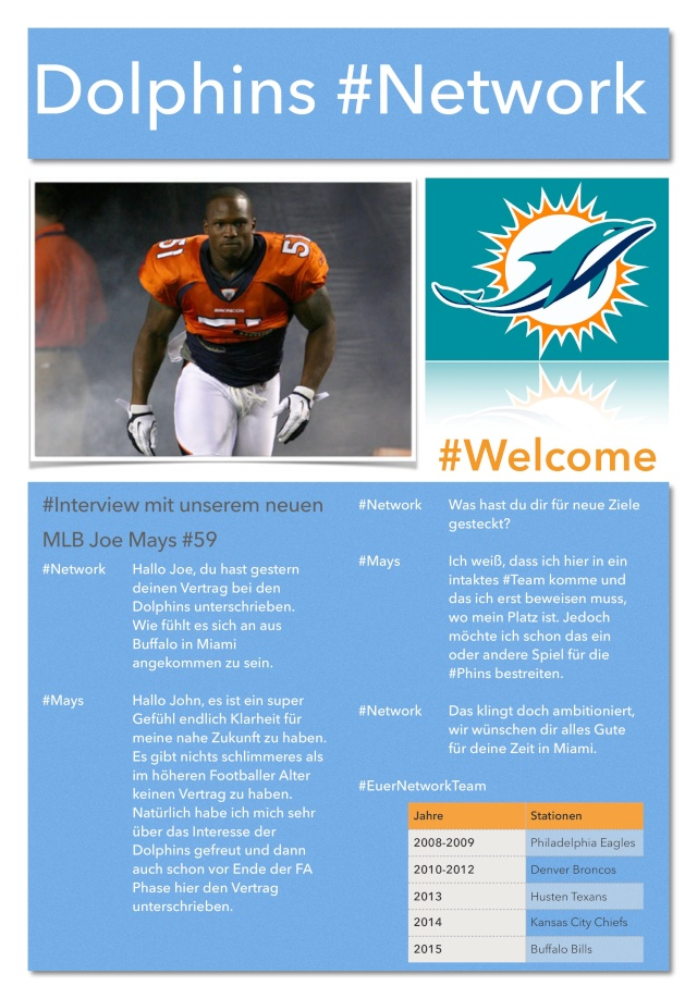 Miami Dolphins #Network Networ15