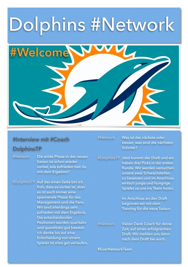 Miami Dolphins #Network Networ19