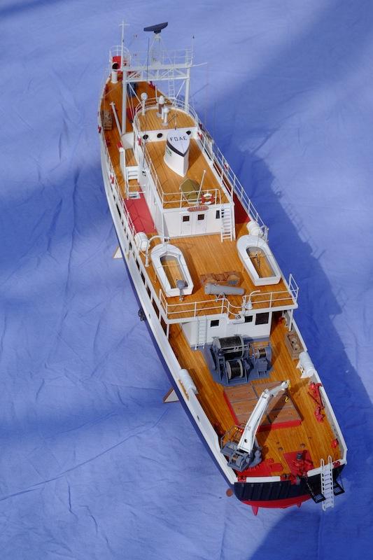 La Calypso 1/50 plans AAMM - modèle achevé Calyps16