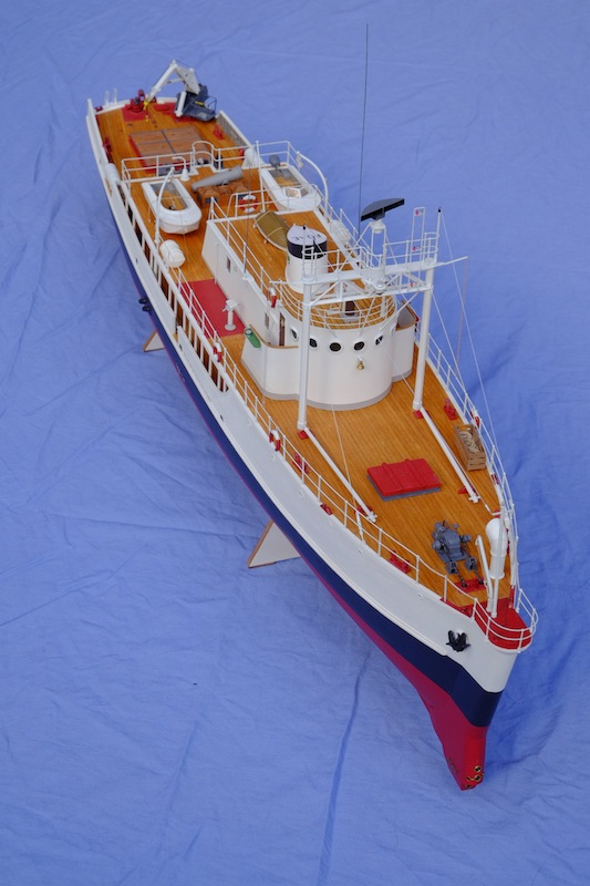 La Calypso 1/50 plans AAMM - modèle achevé Calyps17