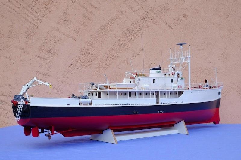 La Calypso 1/50 plans AAMM - modèle achevé Calyps19