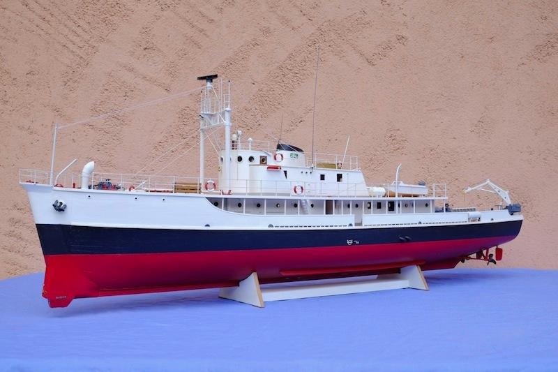 La Calypso 1/50 plans AAMM - modèle achevé Calyps20