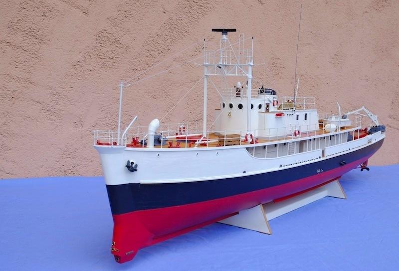 La Calypso 1/50 plans AAMM - modèle achevé Calyps21