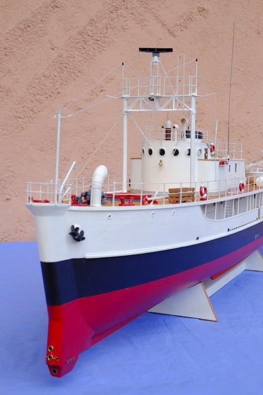 La Calypso 1/50 plans AAMM - modèle achevé Calyps22