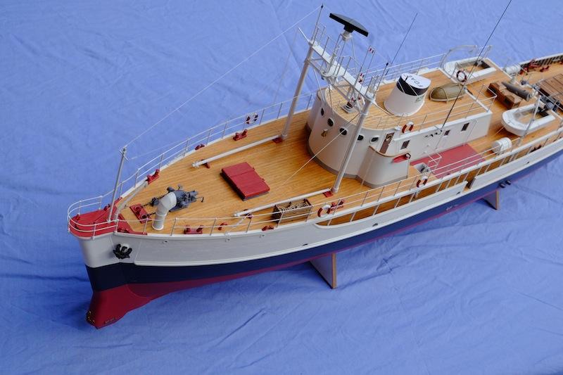 La Calypso 1/50 plans AAMM - modèle achevé Calyps23