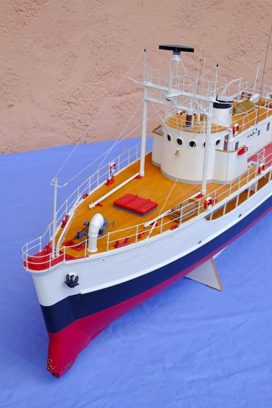 La Calypso 1/50 plans AAMM - modèle achevé Calyps24