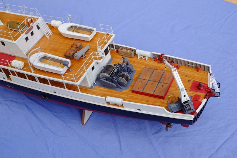 La Calypso 1/50 plans AAMM - modèle achevé Calyps25