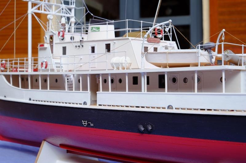 La Calypso 1/50 plans AAMM - modèle achevé Calyps26