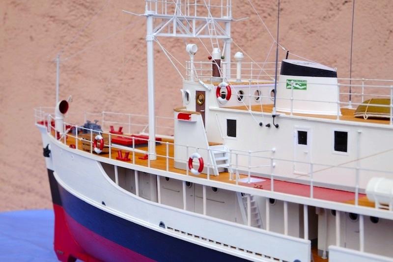 La Calypso 1/50 plans AAMM - modèle achevé Calyps27