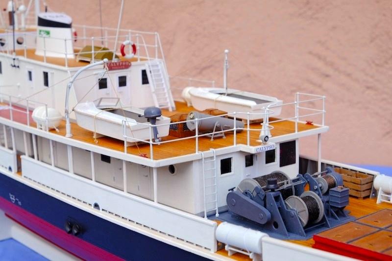 La Calypso 1/50 plans AAMM - modèle achevé Calyps28