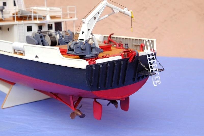 La Calypso 1/50 plans AAMM - modèle achevé Calyps29