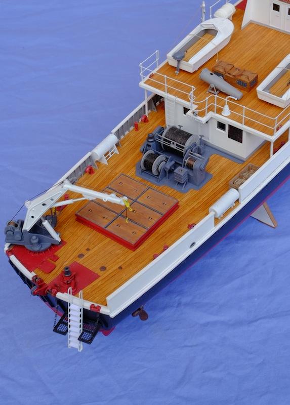 La Calypso 1/50 plans AAMM - modèle achevé Calyps30
