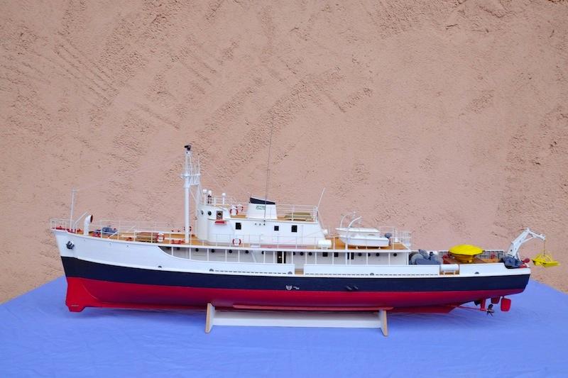 La Calypso 1/50 plans AAMM - modèle achevé Calyps31