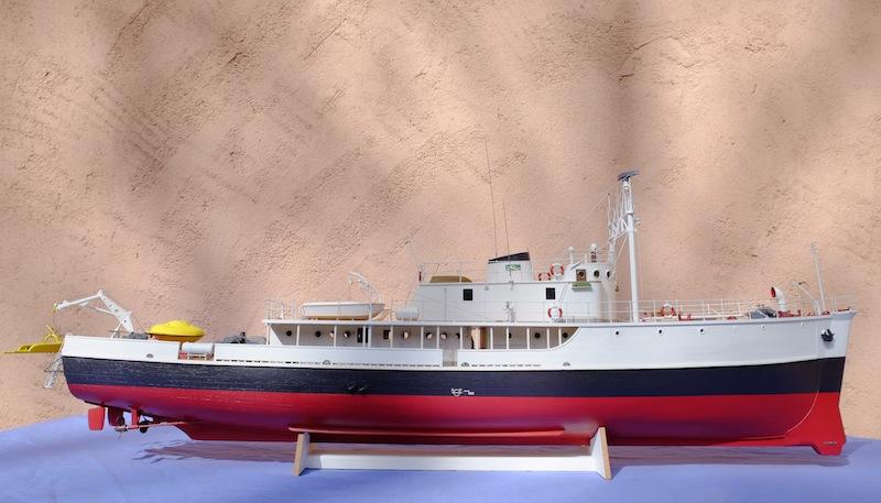 La Calypso 1/50 plans AAMM - modèle achevé Calyps32
