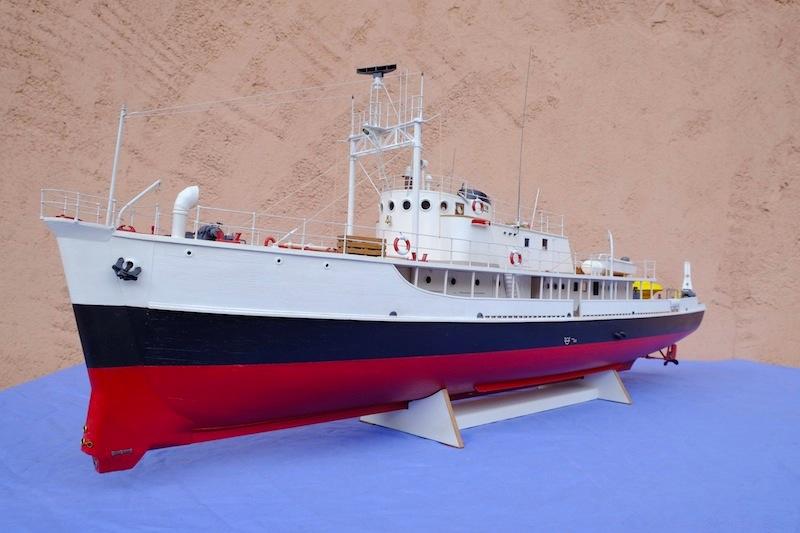 La Calypso 1/50 plans AAMM - modèle achevé Calyps33