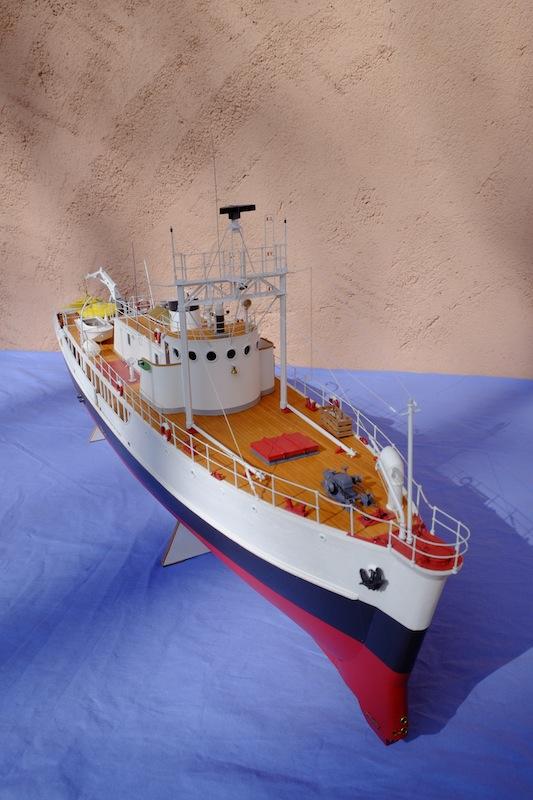 La Calypso 1/50 plans AAMM - modèle achevé Calyps34