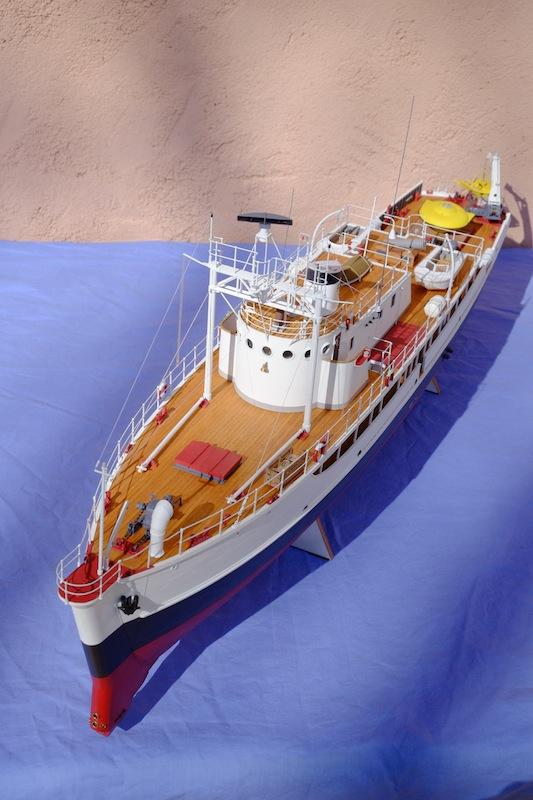 La Calypso 1/50 plans AAMM - modèle achevé Calyps35