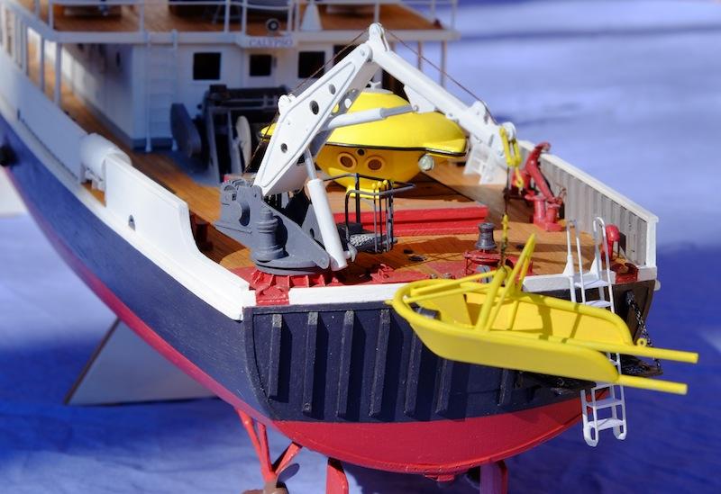 La Calypso 1/50 plans AAMM - modèle achevé Calyps37