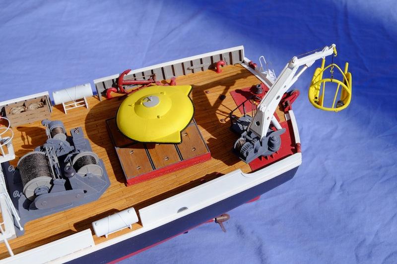 La Calypso 1/50 plans AAMM - modèle achevé Calyps38