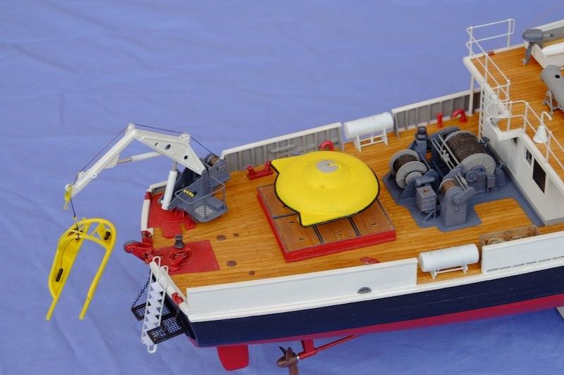 La Calypso 1/50 plans AAMM - modèle achevé Calyps39