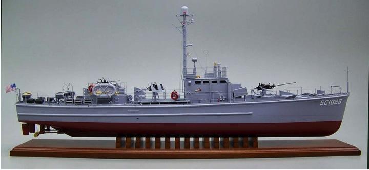 Chasseur de sous-marin CH 123 au 1/100e sur plan - Page 2 Sc102910