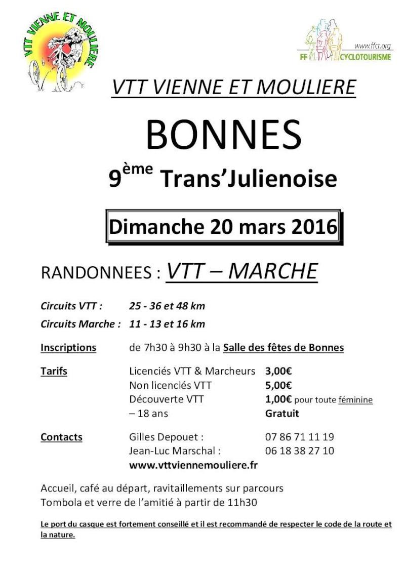 Bonnes (86) 20 mars 2016 Affich10