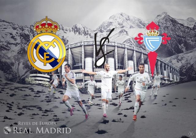 Real Madrid v Celta Vigo Real_m10