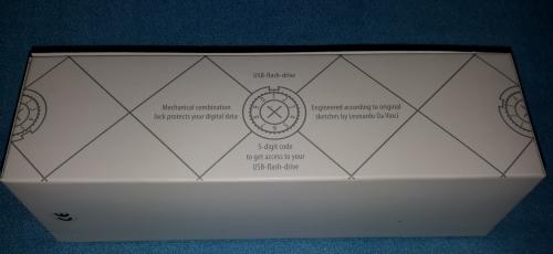 Cryptex 16 GB USB-Speicherstick Cool Gray | Special Edition Seitli22