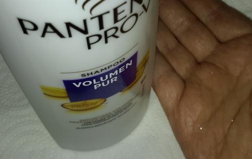 Pantene Pro V Volumen Pur Shampoo mit der Pflege Schaum-Spülung Volumen Shampo14